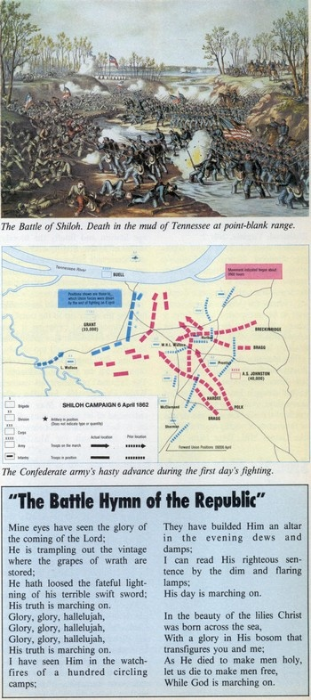 Battle of Shiloh, Tennesee