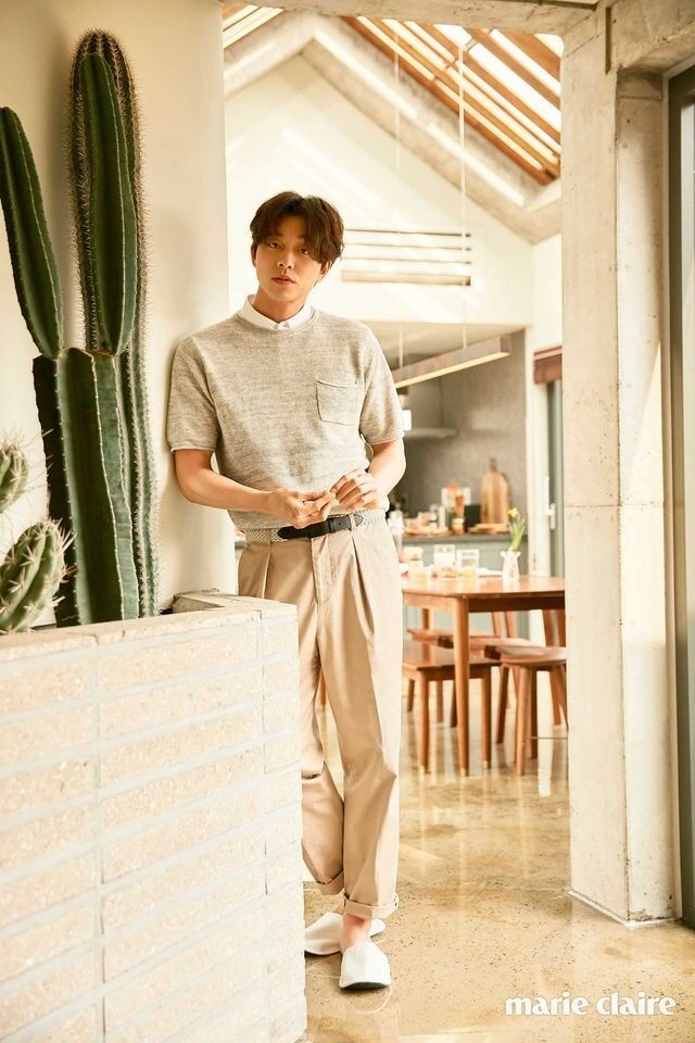 Gong Yoo for Marie Claire magazine April Issue '17