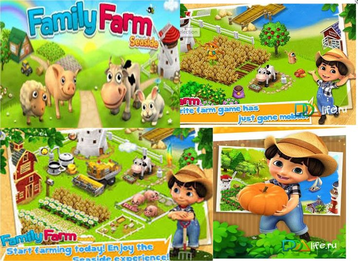 Family Farm Seaside  - an economic strategy for the type of farm. What you will find: the ability to play with friends, and in the future - colleagues on Agriculture growing crops development of new crops implementation of the crop as an economic component of success awesome scenery and location of land on the beautiful coast Achievements for success and leadership and more in bright and colorful graphics!