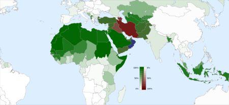 vertentes do Islamismo - Sunitas, Xiitas e Carajitas