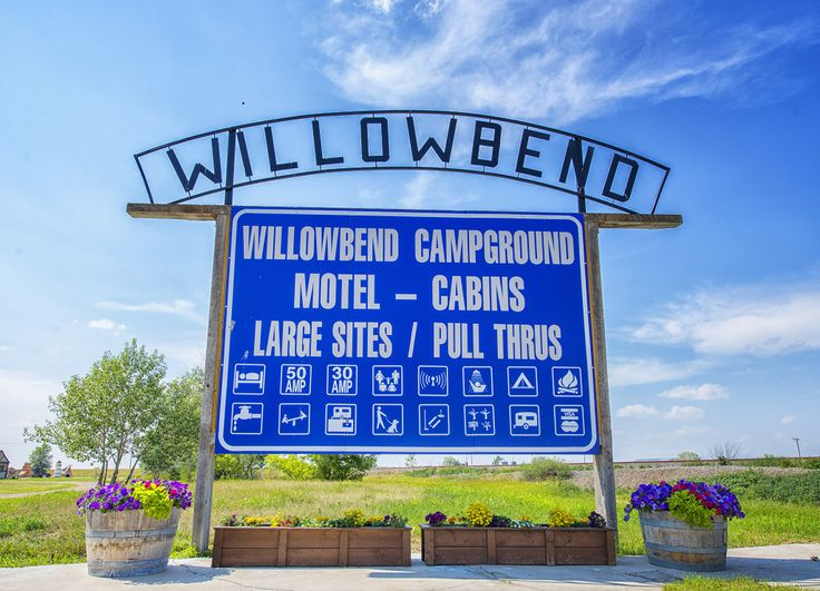 Willowbend Campground & Cabins in Maple Creek, SK