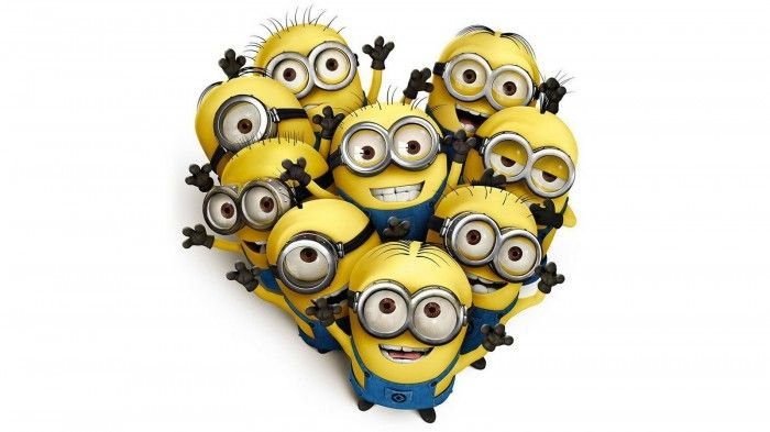 Share your minion love this Valentine's Day! #Minions #Love ...