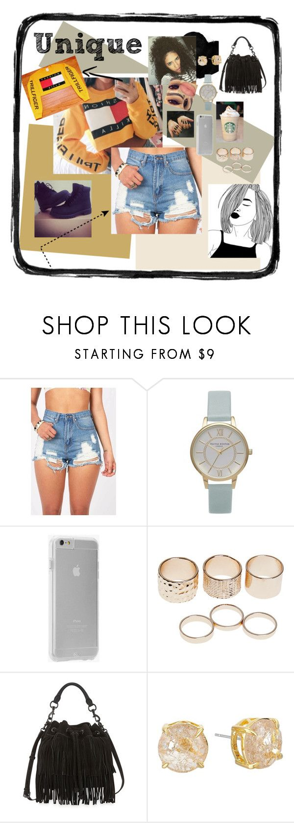 """UniKay..."" by chelle245 ❤ liked on Polyvore featuring Olivia Burton, Bullet, Case-Mate, Wet Seal, Rebecca Minkoff and Vince Camuto"