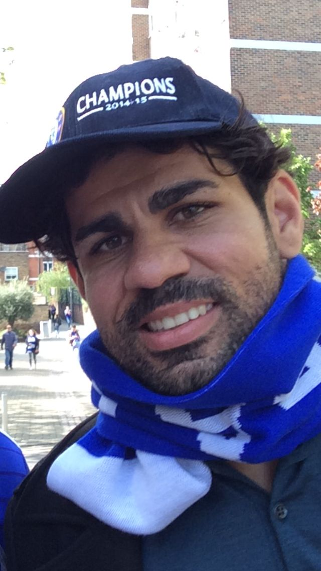 Diego Diego Diego! Champions! Chelsea 2014/15.