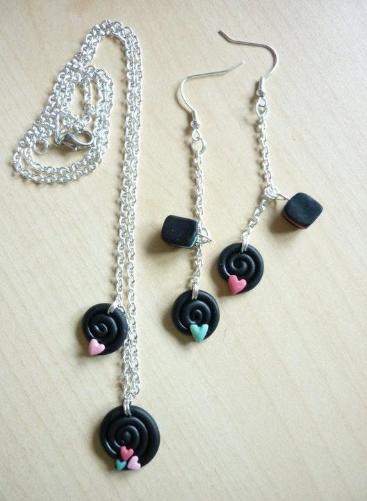 parure, handmade