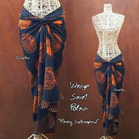 Wrap Skirt by Naretha