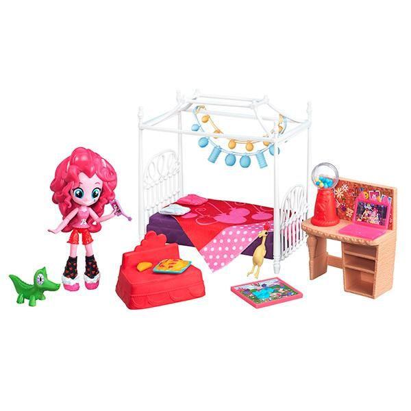 Hasbro Hasbro, My Little Pony, Equestria Girls, Игровой набор мини - кукол Пижамная вечеринка