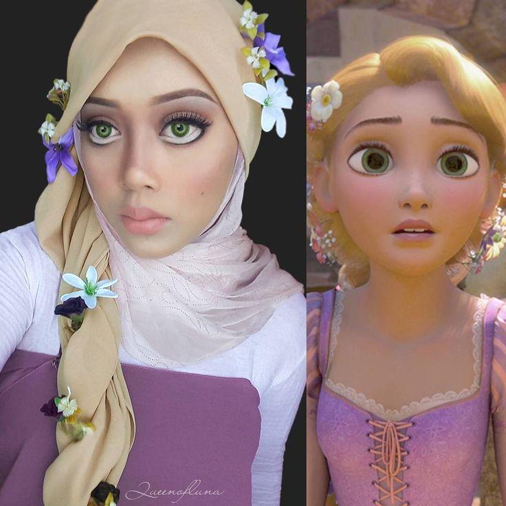 @queenofluna • Rapunzel