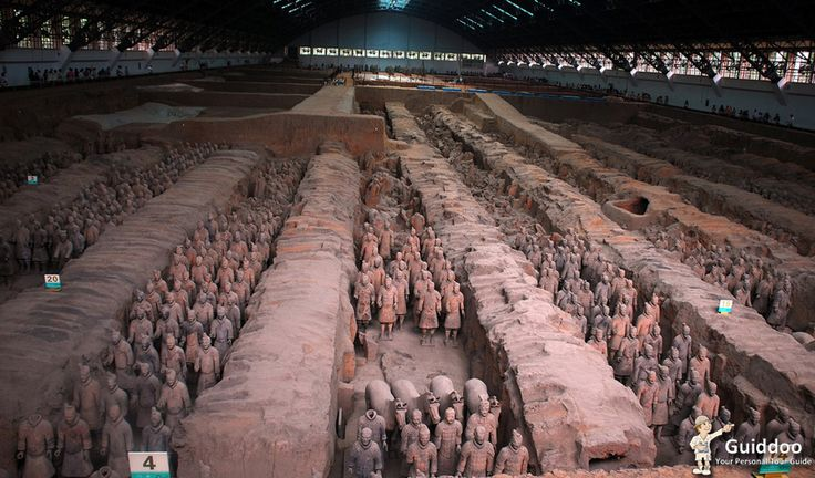 An Ancient Army of Terracotta Warriors