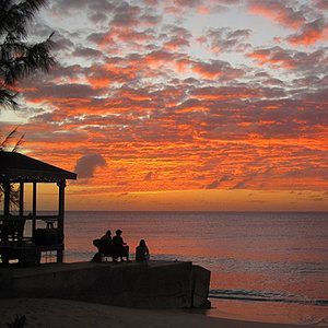 Grand Turk may just be the mellowest spot in the laid-back Caribbean, maybe even on Earth. Not much moves but the wild horses that roam the beaches and streets. But come evening, the Sandbar fills to overflowing. People who've been hanging out since lunch