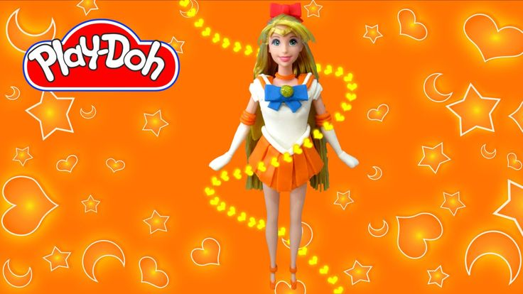 Rapunzel Sailor VENUS Play-Doh Costume