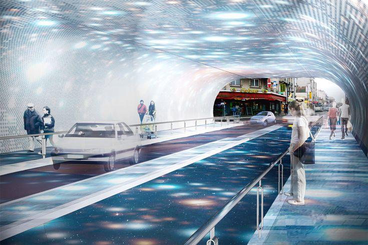 railroad bridge by Exit Paysagistes Associés 07 « Landscape Architecture Works | Landezine