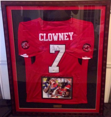 10 best framing pictures images on pinterest framed jersey good jadeveon clowney autographed custom framed jersey solutioingenieria Gallery
