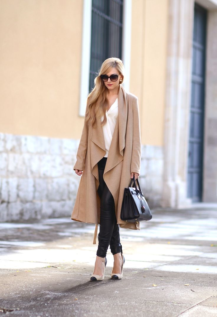 Oh My Vogue: camel duster coat
