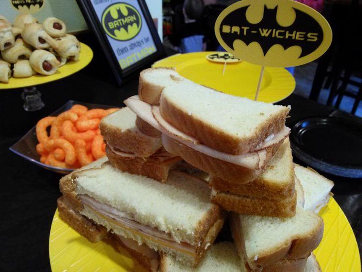 Batman Party food