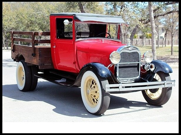 1929 Ford Model A Pickup truck...