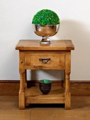 Perfect Chatsworth Lamp Table (model Stately Oak Occasional Table For Your Living  Room From Wood Bros (Furniture) Ltd