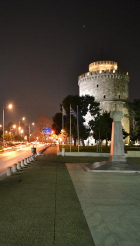 Greece, Thessaloniki... by night!!