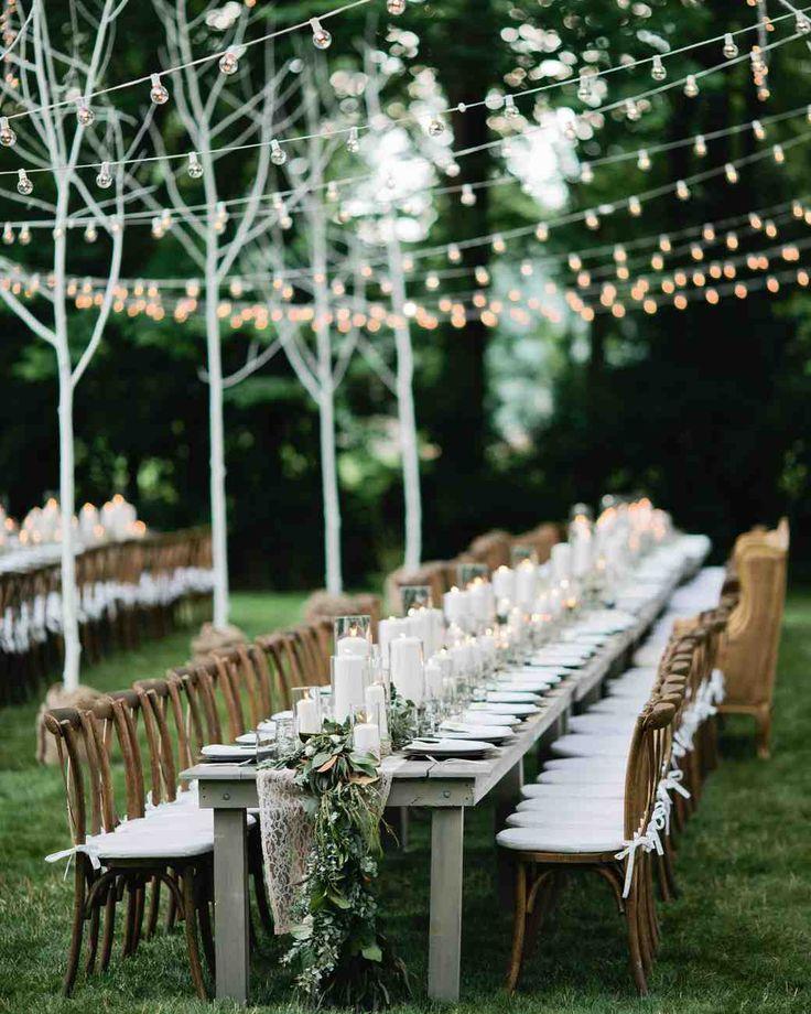 161 best Outdoor Wedding Ideas images on Pinterest Wedding