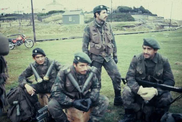 Equipo Compañia Comandos 601-602 - Ejército Argentino
