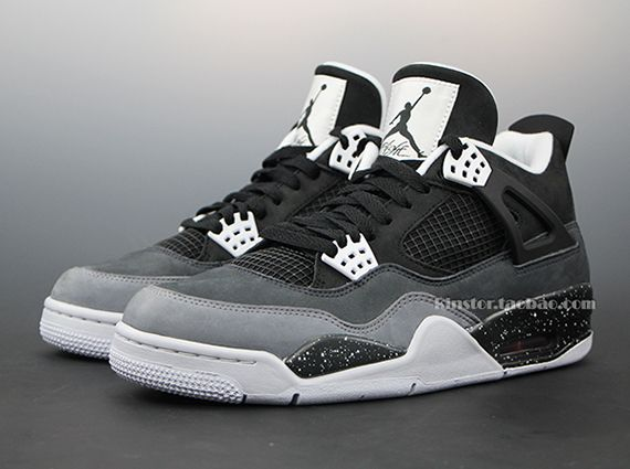 Air Jordan 4 Gris Ciment 2013 Gmc