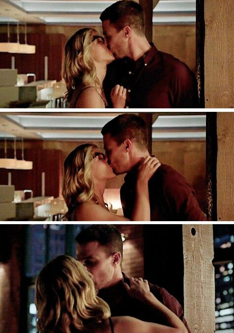 #Arrow - Oliver & Felicity #Olicity #4x01