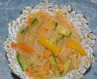 Фунчеза из рисовой лапши