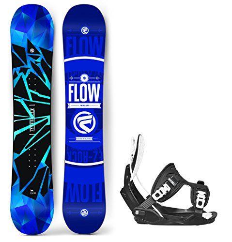 Flow 2018 Burst Mens Snowboard With Flow Alpha LTD