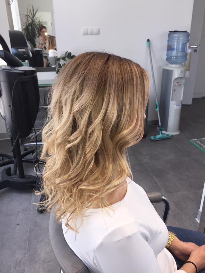 Sombre, wykonanie: Monika. www.fryzjer.lublin.pl #sombre #blonde #long #hair #dyed #color #hairstyle #włosy #fryzury #damskie #Lublin