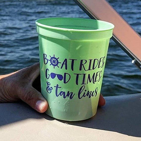 12 Customized Bunco Party Cups 16 oz Screen printed Plastic Stadium Cups