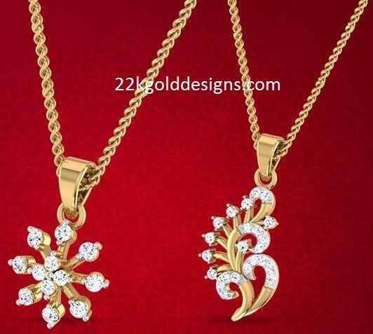 be02d723e3274 Bhima Simple Diamond Pendant Designs | jewellery in 2019 | Diamond ...