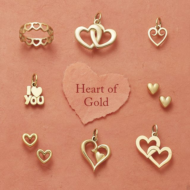 Show Your Special Someone That You Reciate Their Heart Of Gold With The Gift A