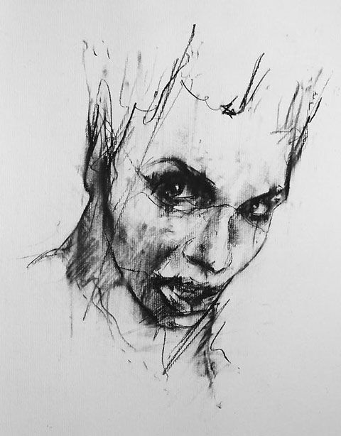 Guy Denning: drawing with rage, amongst other things