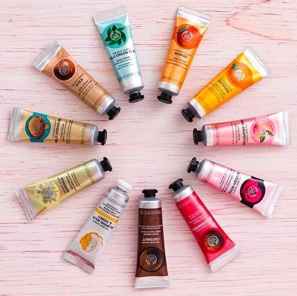 The Body Shop Christmas hand creams | The Little Blog of Beauty