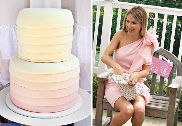 love this cake!: Pastel Cake, Pretty Ruffle, Wedding Shower, Bridal Shower Ideas, Ombre Cake, Simple Cake, Pink Cake, Bridal Showers