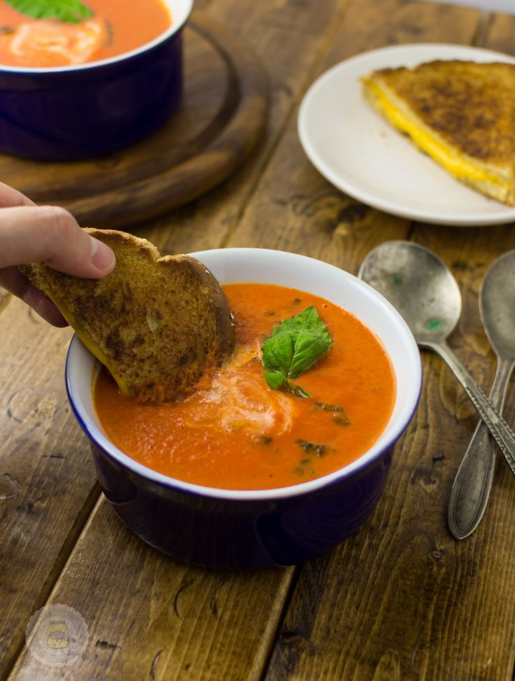 Roasted Tomato Basil Bisque 8