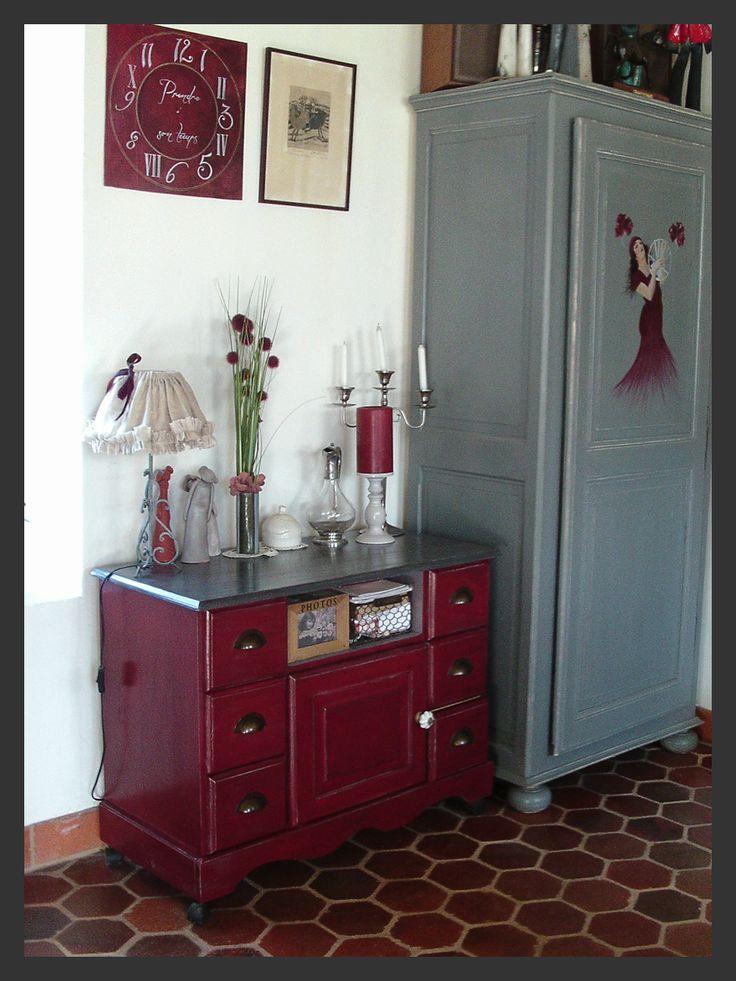 Les 11 meilleures images propos de peinture d corative meubles peints pati - Pinterest meubles peints ...