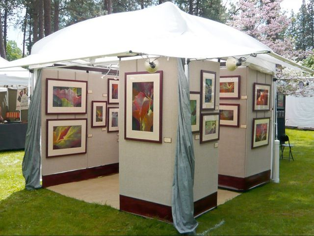 79 best images about art show ideas on pinterest tent for Display walls for art shows