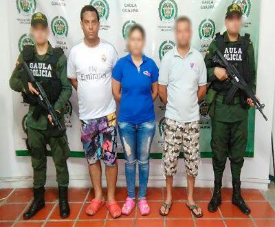 Gaula de la Policía Nacional desarticula grupo delincuencial en La Guajira y el Cesar