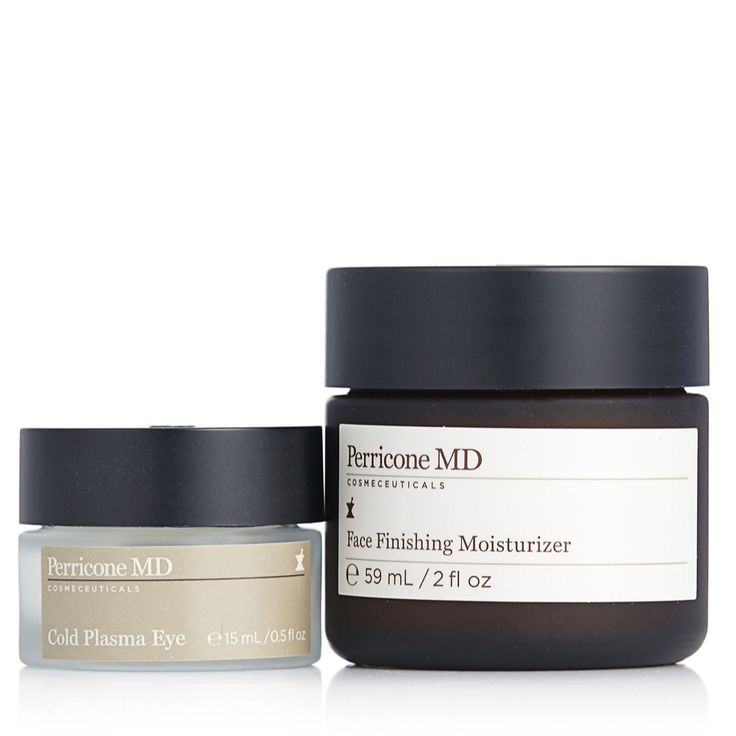 QVCUK Black Friday Offers til Mon 28th Nov...  229826 Perricone Cold Plasma Eye 15ml & Face Finishing Moisturiser 59ml QVC Price: £96.00  Event Price: £78.72 + P&P: £5.95 or 2 Easy Pays of £39.36 +P&P  A skincare duo from Perricone, comprising Cold Plasma Eye, developed to help moisturise and smooth the look of fine lines and wrinkles around your delicate eye area, and Face Finishing Moisturiser, an easily-absorbed cream designed to help hydrate your complexion and prep it for make-up…