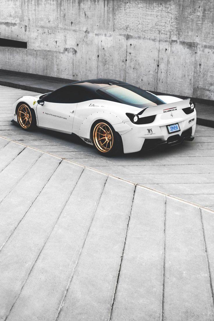 Liberty Walk Ferrari 458 #LuxurySportsCars – Ahmet
