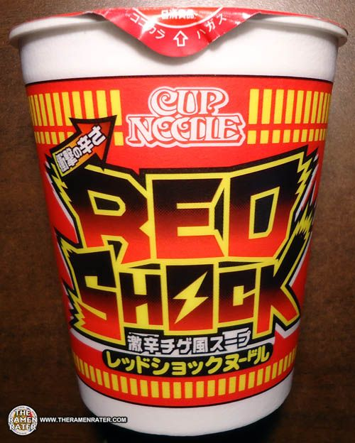 #1067: Nissin Cup Noodle Red Shock | The Ramen Rater