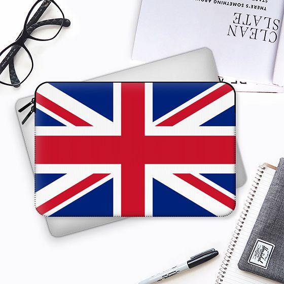 Union Jack Flag of the UK - Macbook Sleeve