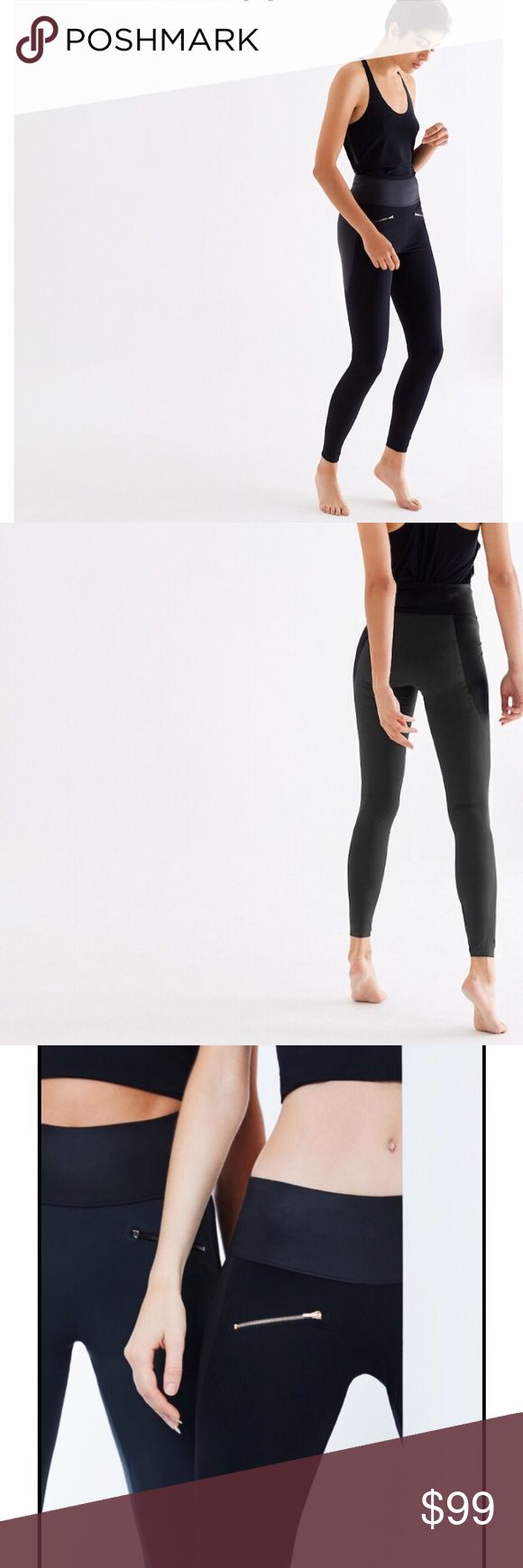 ADAY throw it higher leggings New without tag.Size Small.No flaws MATERIAL QUALITIES UV protection Quick drying Stretch Pilling-resistant Sweat wicking FITTING True to size, with a sculpting fit. High waisted. CARE INSTRUCTIONS Cold wash, line dry. Do not use bleach, fabric softener or dry clean.  FABRIC Body: 59% Nylon, 41% Elastane  Detail: 79% Polyester, 21% Elastane This is ADAY ADAY Pants Leggings