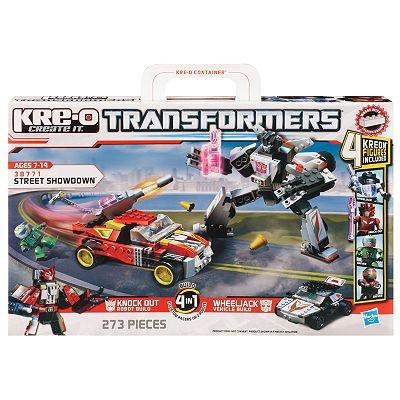 KRE-O Transformers Street Showdown Set by Hasbro
