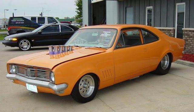 ◆ Visit MACHINE Shop Café... ◆ ~ Aussie Custom Cars & Bikes ~ (1969 HT Holden Monaro 'Billet')