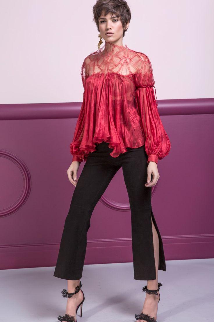 RUTH pants & DILANA blouse