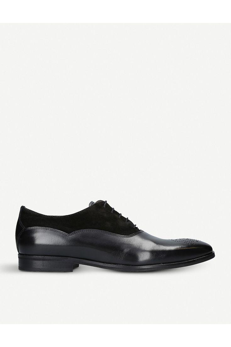 KURT GEIGER LONDON - Hopkins leather oxford shoes   Selfridges.com
