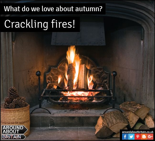 What do we love about Autumn? Crackling fires! Do you have an open fire or log burner? OR would you like to sit by one on your holiday? Search for accommodation using www.aroundaboutbritain.co.uk. #LogBurner #OpenFire #Cost #Britain #Holiday