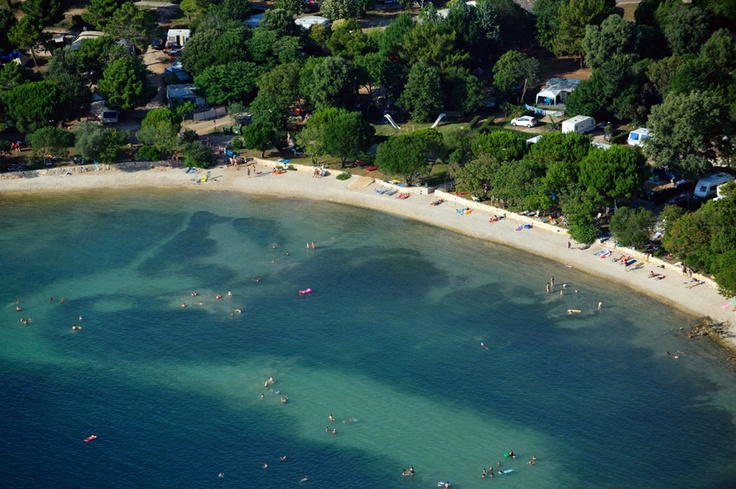 Camp Veštar in Rovinj --> The famous sandy beach, peaceful location, rich gastronomic offer and all the comforts of a camping holiday make up campground Veštar a perfect place to spend your summer with family and friends. http://www.campingrovinjvrsar.com/Campgrounds/Vestar_Rovinj